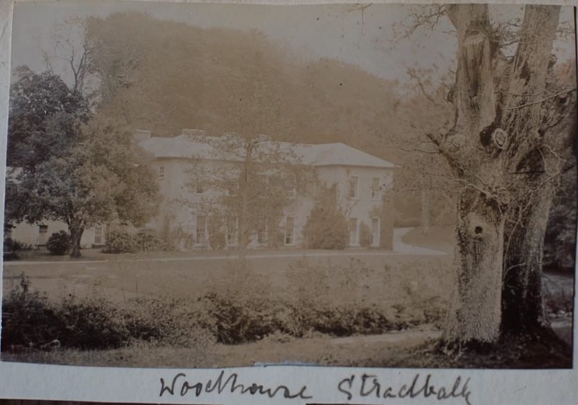 Woodhouse, Stradbally, end of XIX/ beginning of XX c. Courtesy of Mrs Sarah Kerr