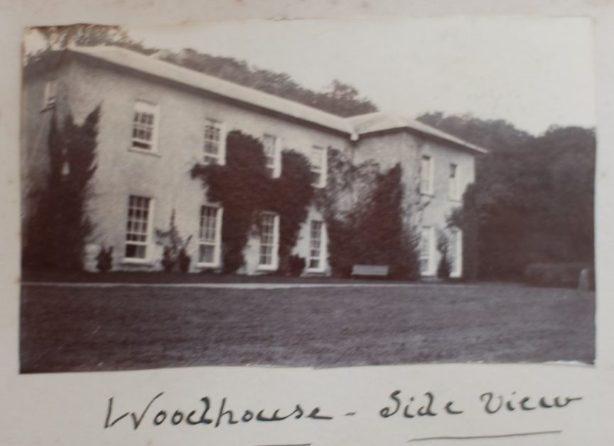 Woodhouse, side view, by Clodagh Anson, 1902 Courtesy of Mrs Sarah Kerr